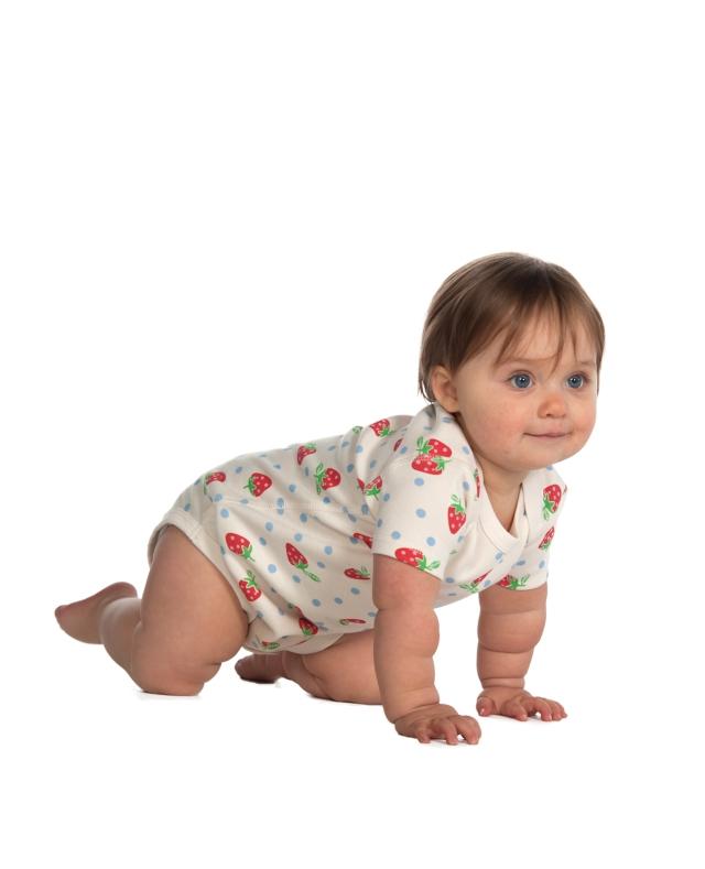 El body de algodón orgánico. Un básico para tu bebé.
