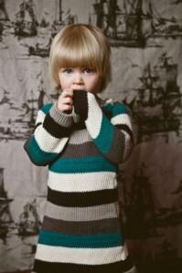 multi colour stripey dress- smaller