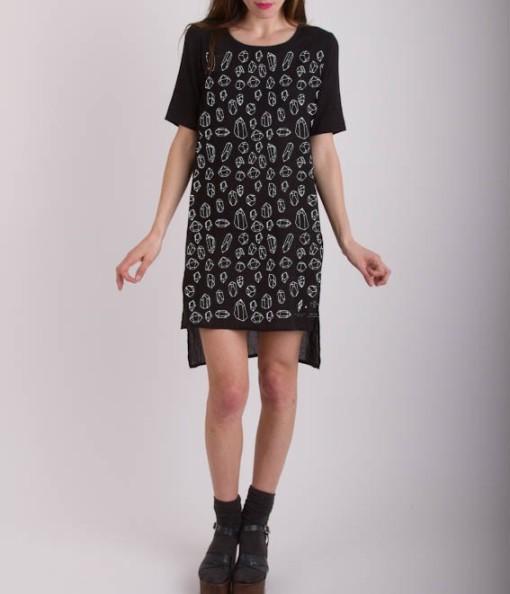 Vestido Kurta negra de Ananda Pascual por 59€